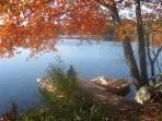 Boat Dock on Property Last Fall