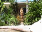 One of Casa\'s tiki Gods