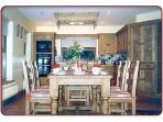 Kitchen cum Dining Room  - Table can be extended to comfortably seat 11-12 people