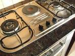 Electric and Gas Stove with Grill