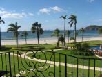 The Palms #7 Flamingo Beach Costa Rica, View Ahead to Flamingo Beach from Master Bedroom Balcony