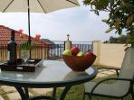 Villa Antonia balcony sea view