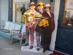Did you know the 3 Stooges are Steeler Fans? Perfect for a Pittsburgh Steeler football weekend!