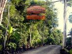 Driveway entrance of Maya cala