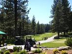 Golf @ Tahoe Donner about one mile from the house