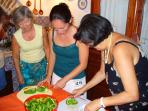 Cooking class at Baglio Filippi