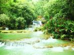AFTER BLACK R.SAFARI YOU WILL VISIT THE BEAUTIFULL Y.S. FALLS- NATURE