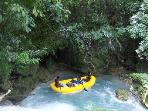 THE WHITE WATER RAFTING IS NOT ONLY ONE OF THE MOST EXCITING TOURS YOU CAN EXPIERENCED IN JAMAICA