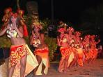 Don't forget to see the Tahitian Traditional Dances!