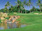 Enjoy a round of golf at the Championship Ko Olina Golf Course - among Golf Digest's top courses!