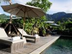 2 BR Villa Pool and Terrace