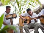 Live music on the beach or at the villa to celebrate  special moments!