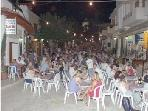 Pissouri Village square at night