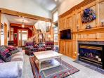 White Wolf Townhome Living Room Breckenridge Luxury Lodging