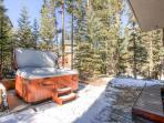 White Wolf Townhome Hot Tub Deck Breckenridge Luxury Lodging