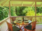 Sit on the Guest House lanai and relax. You're home.....