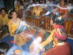 Gamelan Group In Nearby Village