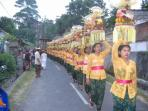 Temple Ceremony In Nearby Village
