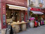 Caveau de la Tour - champagne and cheese (1 min from la Marisol)