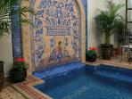 Riad Africa's beautiful plunge pool