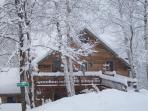 Winter at the cottage!