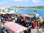 Sunday fish market