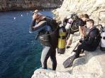 Marsascala- divers prefered spot