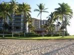 Beach Villas from the Lagoon