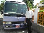 Meet Richard Davis our Licenced Chaffeur who will provide transportation from/ to Montego Bay Arpt.