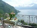 2 private balconies to enjoy the view