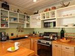 A great kitchen to prepare meals