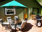 Glen Tara, Cazadero Vacation Rental, Gas Grill