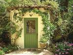 charming front door of charming 1920's home