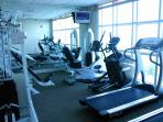 Exercise Room Overlooking the Gulf