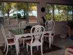 Florida Room with dining table