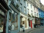 Victoria Street, a charming street in the city, with a colourful mix of shops, restaurants and cafes