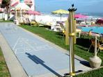 Oceanfront Shuffleboard Court