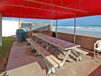 OceanFRONT Guest BBQ Area