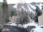 View from Condo of Ski Mountain
