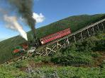 Famous Mt Washington Cog Railroad