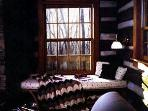 The Reading Nook in The Cabin at Wintergreen