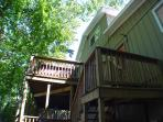 Back Of House And Deck