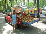 LOCAL FRUIT VENDER