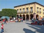 1.5 blocks to the Jardín (Main Town Square) .