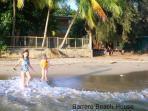 Grand kids on the beach