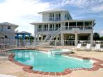 Main, pool and Guest house