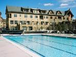 Year-Round Heated, Outdoor Pool, Interior Access, Hot Tubs and Mountian Views