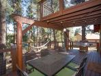 Deck Dining in the Pines