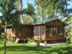 Casita Bonita with screened-in verandah