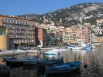 Villefranche sur mer has all the restaurants and shops